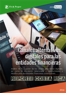 Reporte Mensual Canales alternativos digitales para las entidades financieras costarricenses