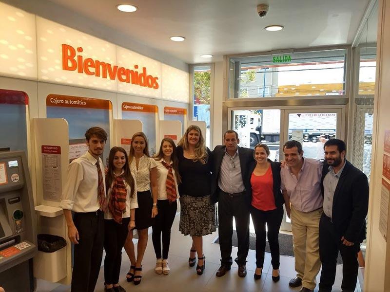 Banco galicia abri las puertas de su s ptima sucursal en for Sucursales galicia cordoba